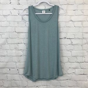 Cabi soft blue green loose tank